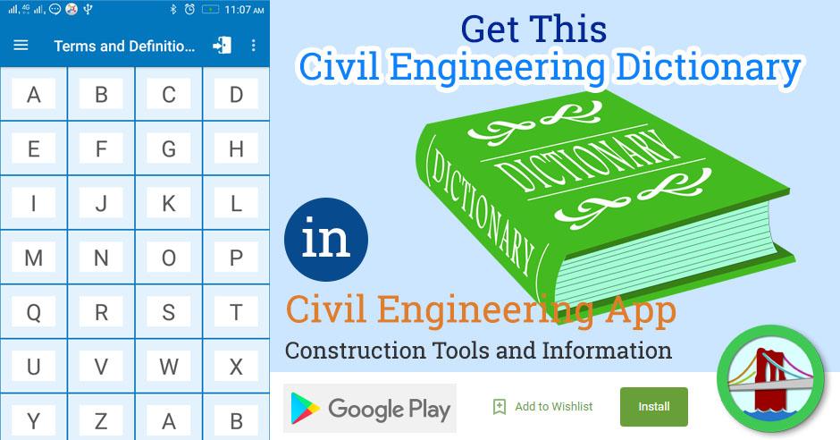 Civil Engineering Dictionary